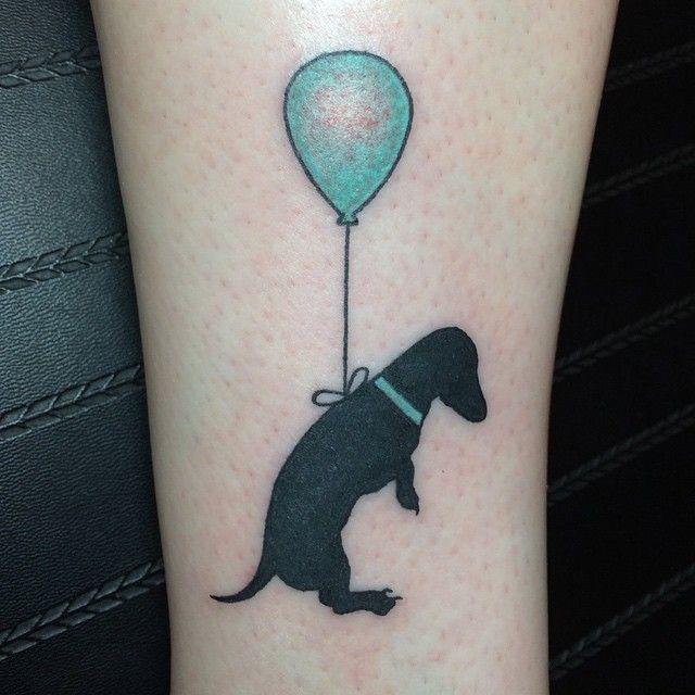 Precious dog tattoo