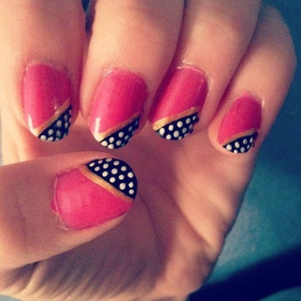 Nail Art For Beginners Without Tools: For Short Nails At Home Without Tools