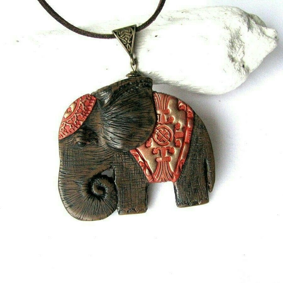 Animallover Gift Animal Jewelry Necklace Elephant Lover