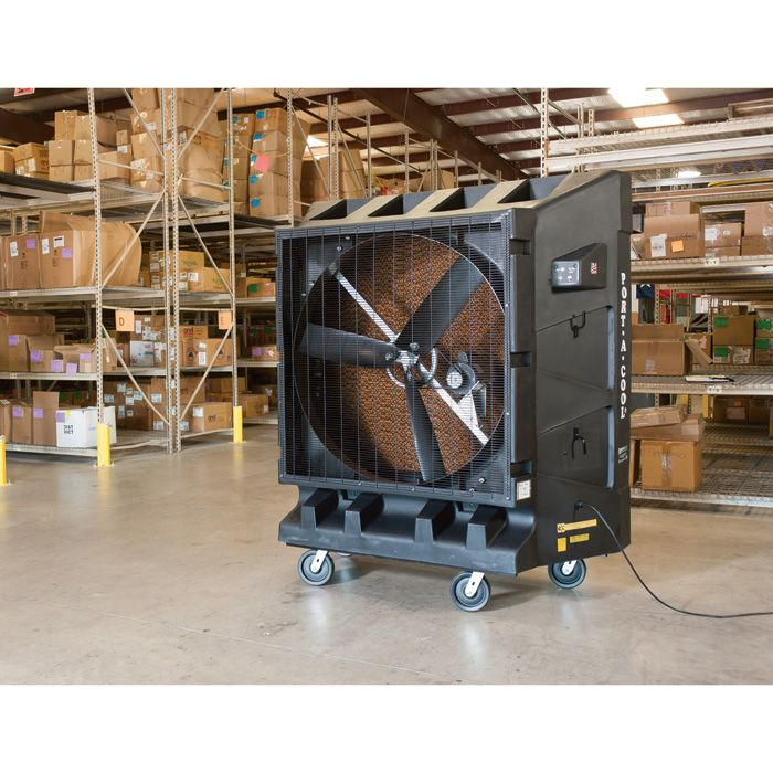 Cool Down 4 000 Sq Ft With A Port A Cool Portable Evaporative Cooling Unit Heat Stress Cooling Unit Cool Stuff