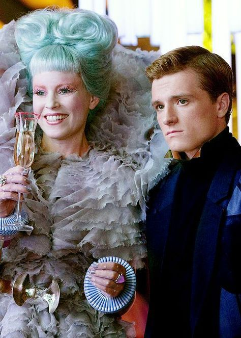 Peeta and Effie