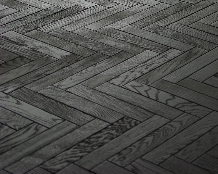 Black Herringbone Floor Google Search My Apartment