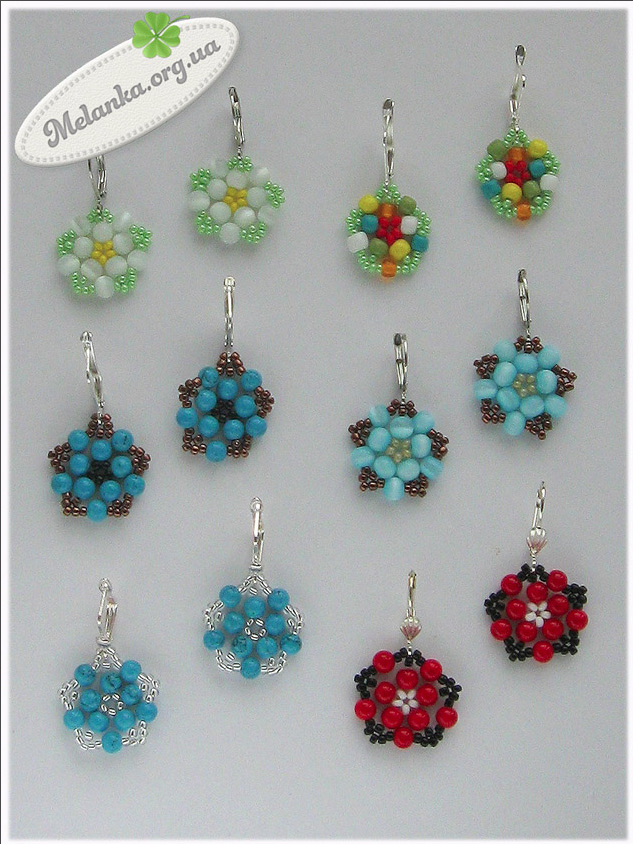 Free Beaded Earrings Pattern Featured In Recent Bead Patterns Newsletter