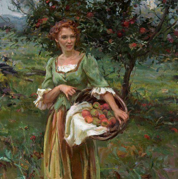 Daniel F  Gerhartz (1965) is part of Art, Woman painting, Art painting, Female art, Painting, Beautiful paintings -  Daniel F  Gerhartzofficial website
