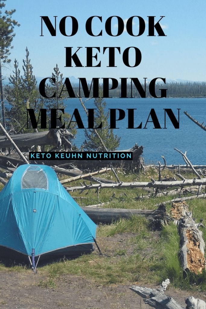 No Cook Keto Camping Meal Plan images
