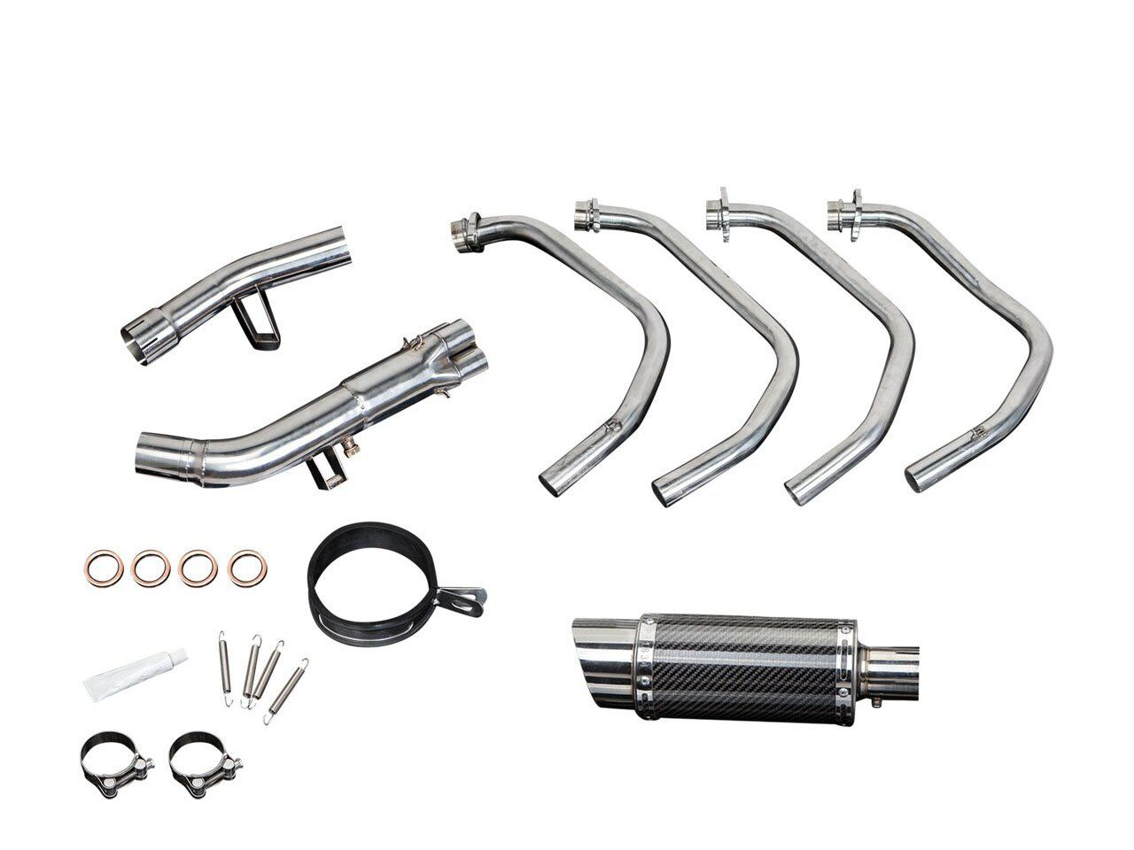 DELKEVIC Suzuki GSF1250 Bandit (07/09, 16) Full Exhaust System with Mini 8