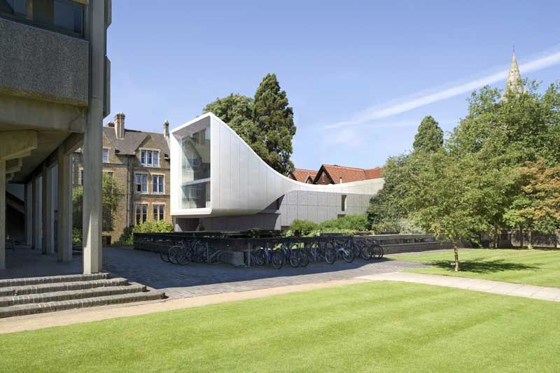 Architecture · Zaha Hadid Adds Shimmery Tunnel To Oxford University