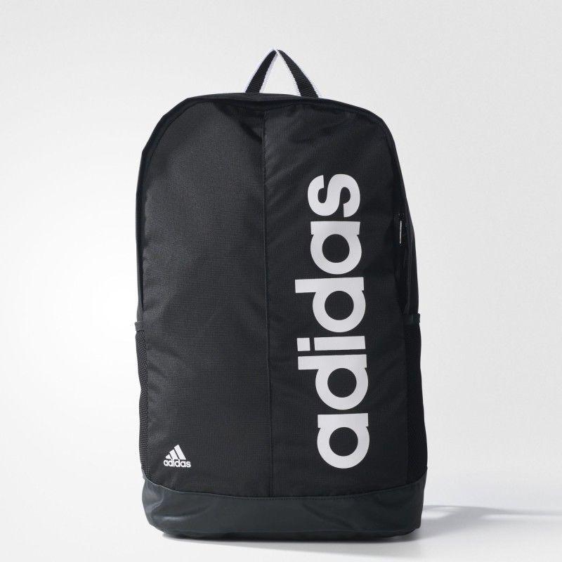 0ab11fdad11d adidas Linear Performance Backpack School Outdoor Running Sport Bag Black  AJ9936  adidas  Backpack