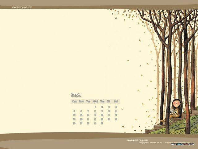 September Desktop Calendar 2004 Desktop Calendars Computer Cg