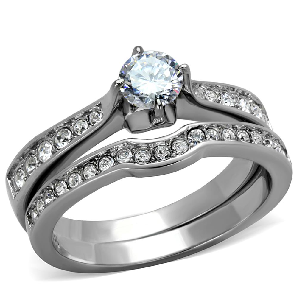 Sparkle Wedding Ring Set Wedding Ring Designs Engagement