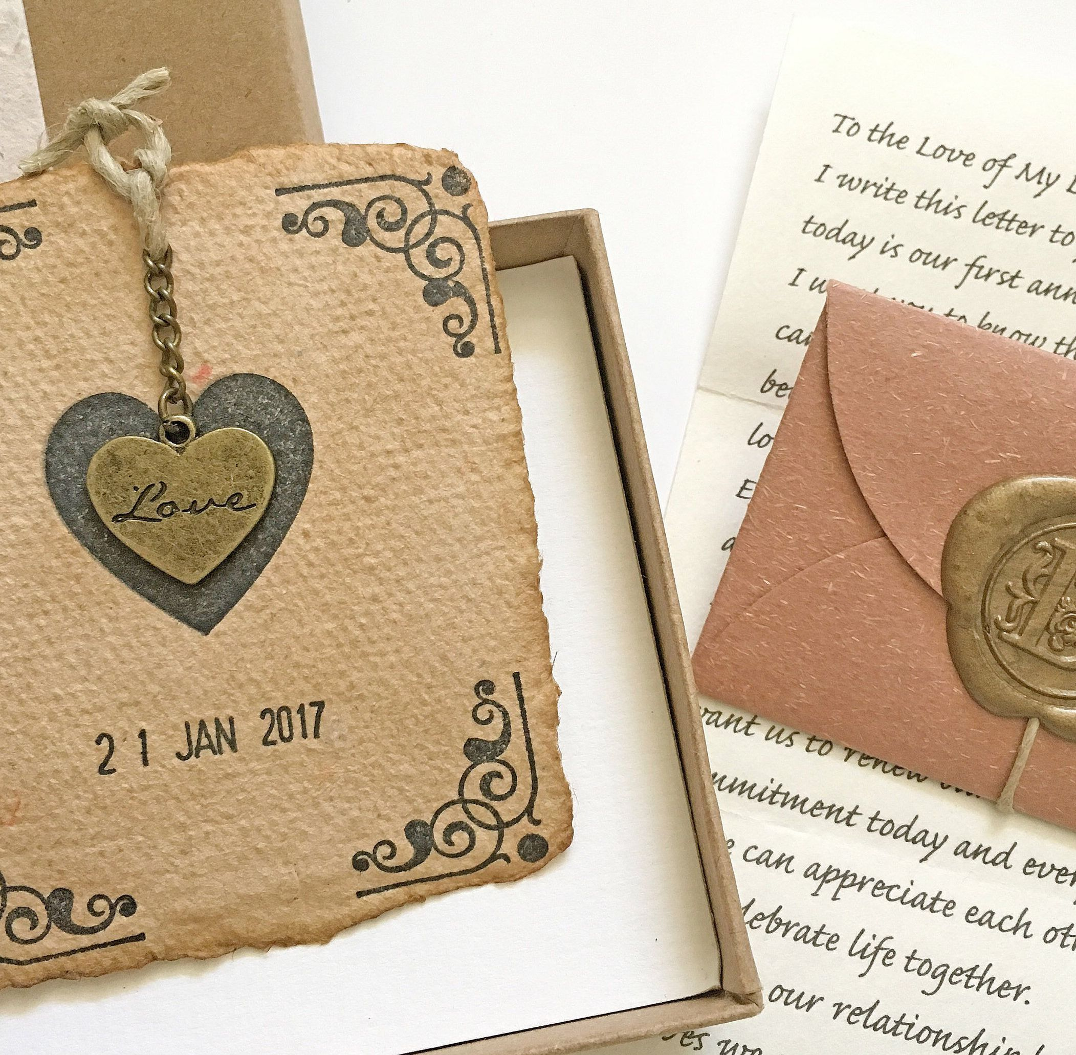One year wedding anniversary gift for him, her