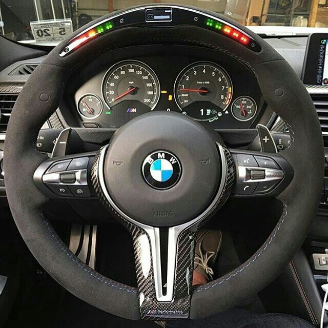 F30 M3 With A Alcantara Mperformance Racing Steering
