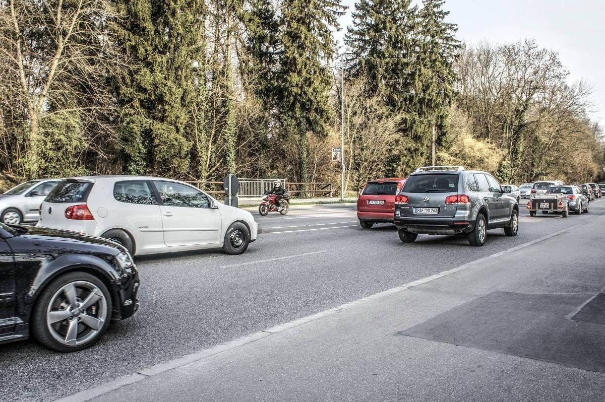 Berufsverkehr Westliche Ringstraße