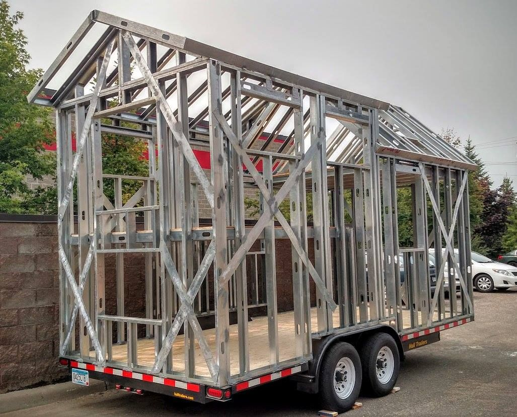 Jump start your project with a welded steel framed tiny house ...