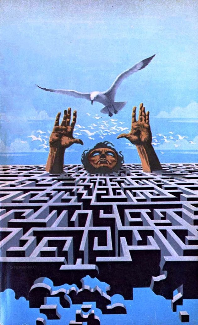 """""""The Shores of Tomorrow"""" by Jim Steranko"""