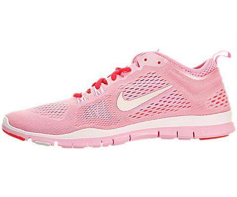 bab2f237aee4 Nike Women s Free 5.0 Tr Fit 4 Breath Perfect Pink White Lsr Crimson  Training Shoe 9 Women US