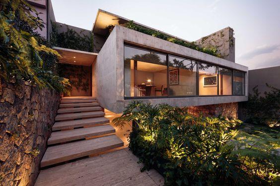 Fachadas de casas u2013 imágenes, ideas y diseños modernos Ideas