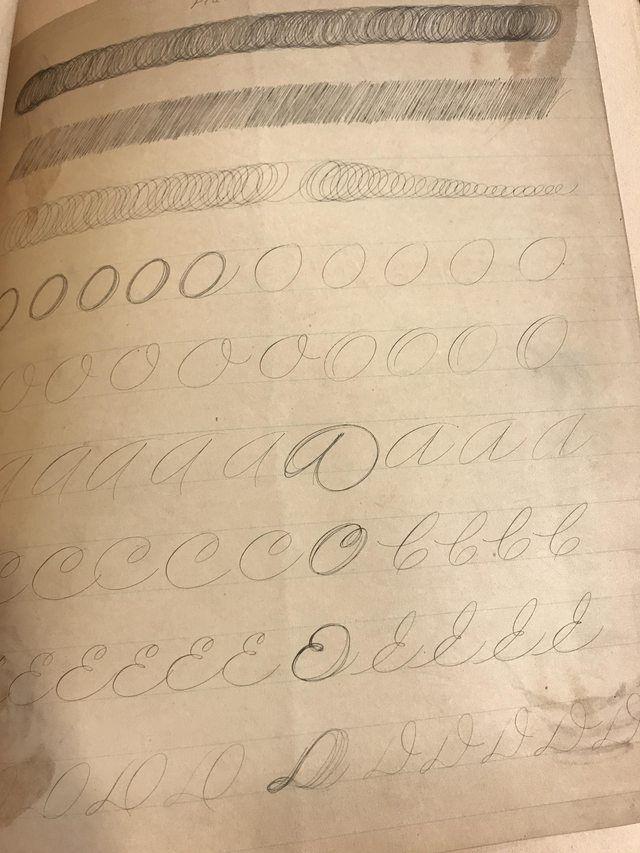 A few pictures - penmanship
