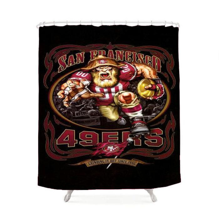 San Francised 49Ers Shower Curtain