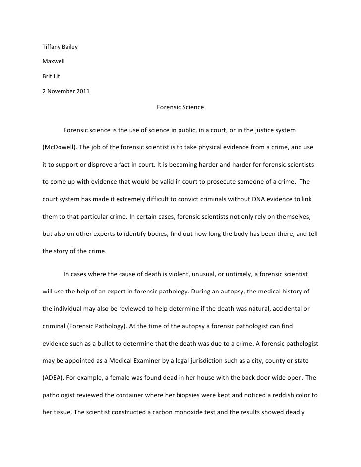 Forensic Science Research Paper In 2020 Essay Professional Writing Anthropology Topics Topic