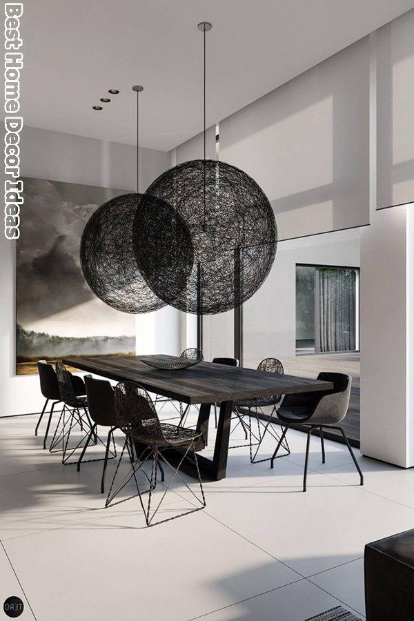 Best Black Dining Room Decor Panosundaki Pin 400 x 300
