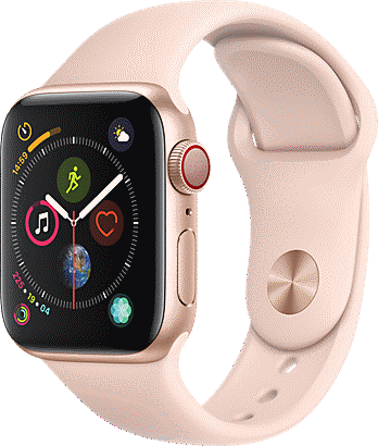 Apple® Watch Series 4 Aluminum 40mm Case with Sport Band