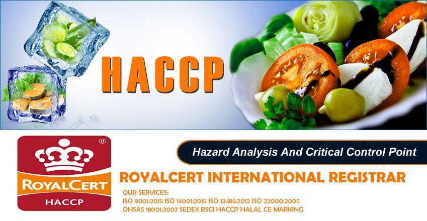 Haccp certification contact 03018610123 hazard