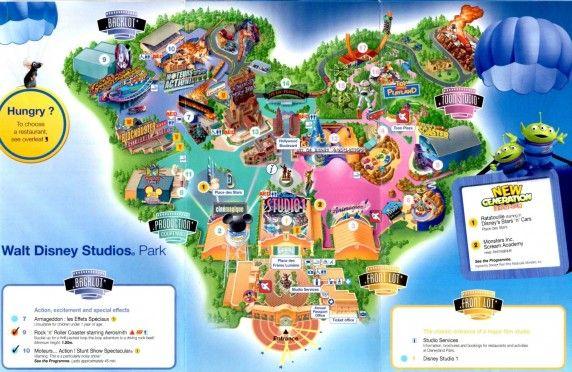 Roteiro pelo Walt Disney Studios Park (O Hollywood Studios de Paris) - parte 1 - Andreza Dica e Indica