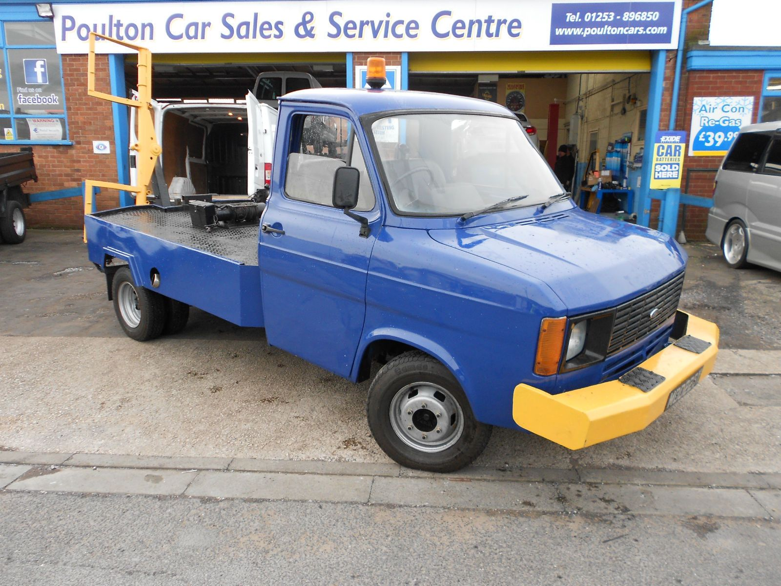 1983 ford transit mk2 recovery truck spec lift classic car barn find