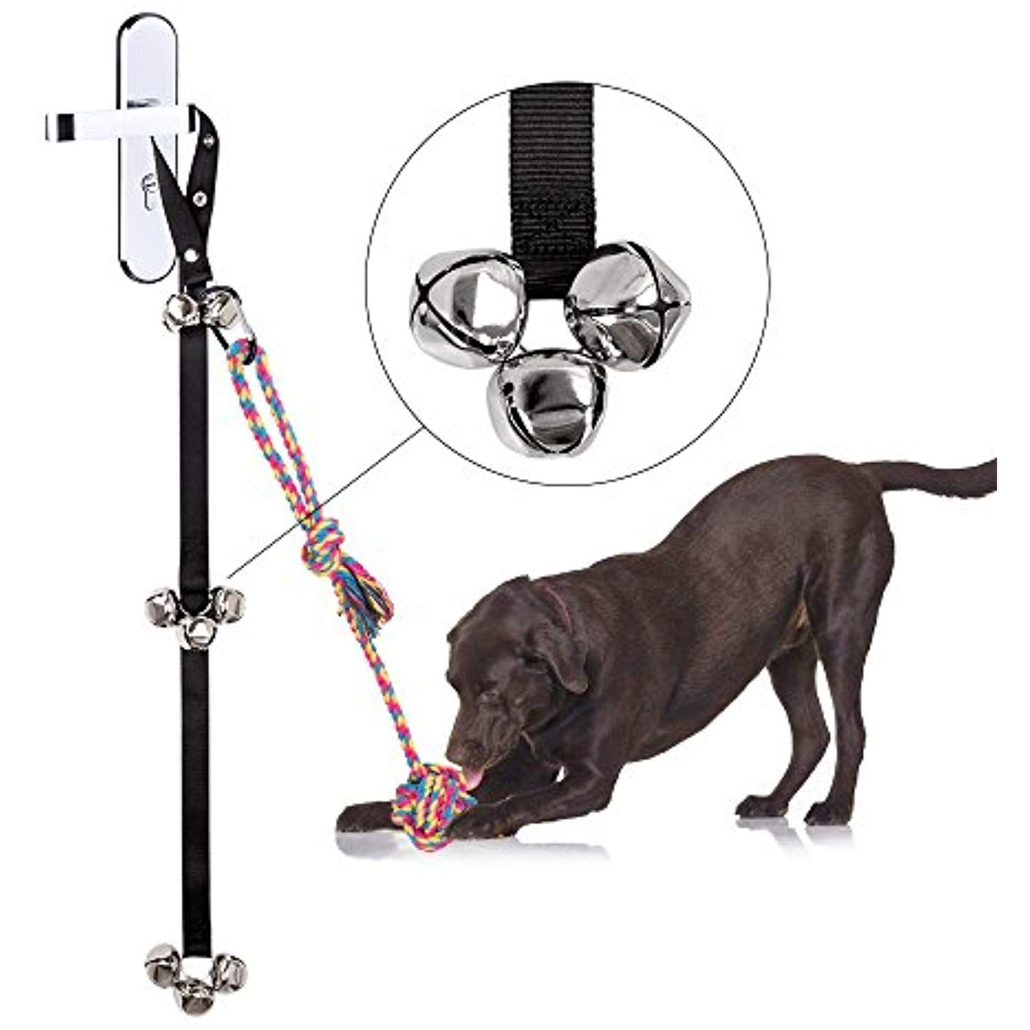 Potty Bells Dog Doorbell For Puppy Potty Training Housetraining From Siivton Doggie Doorbell With 8 Loud Bells Potty Training Puppy Potty Bells House Training