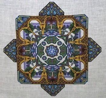 Alhambra garden - chatelaine designs