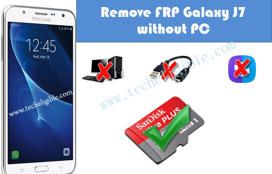 Bypass FRP Galaxy J7 without PC and Add New Google Account | Bypass