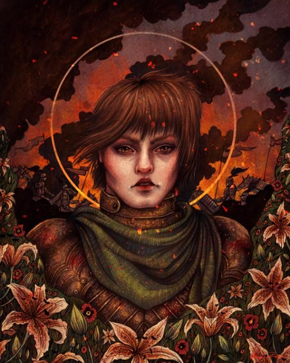 Joan of Arc by Angela Rizza