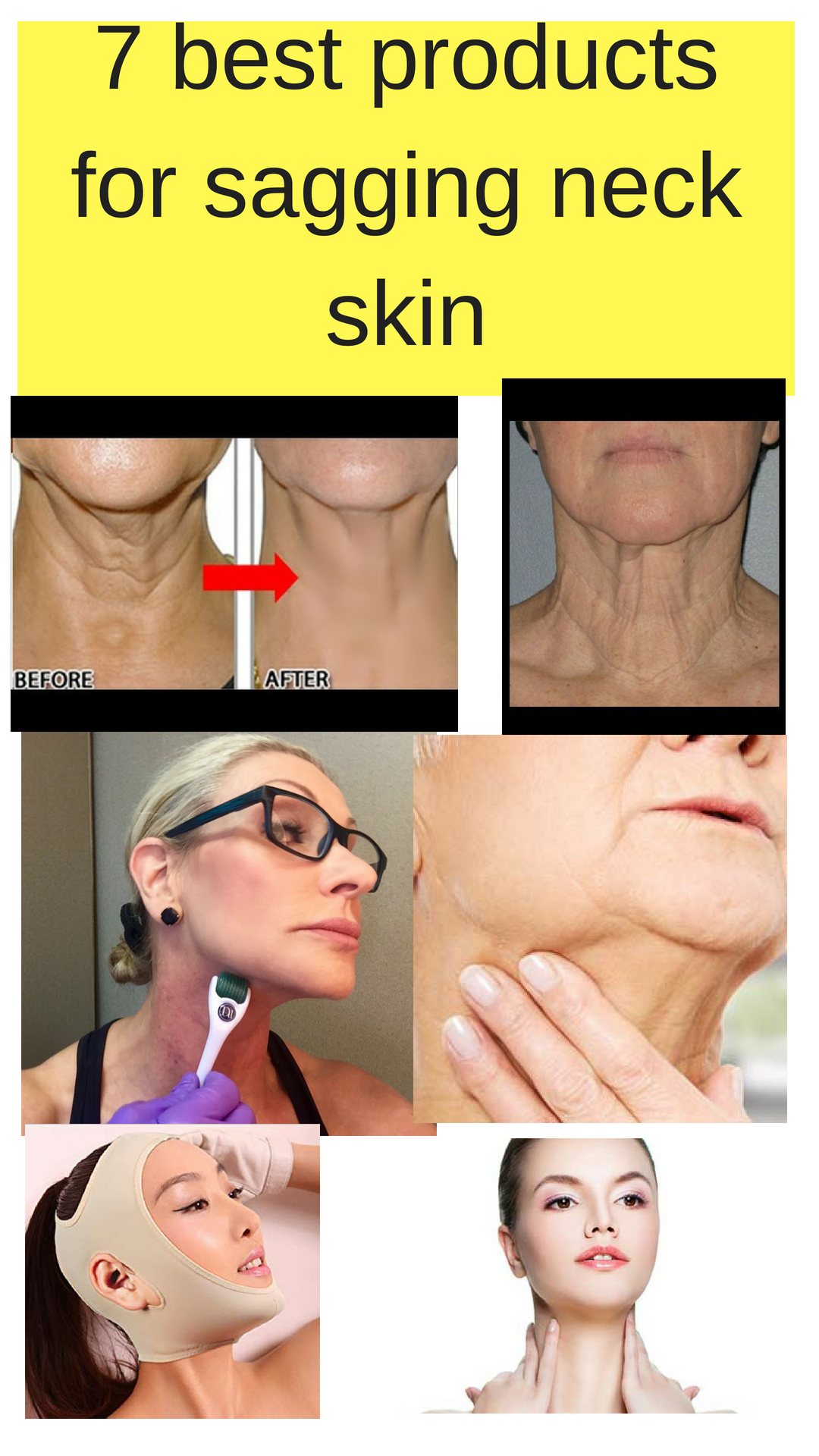 Best Products For Sagging Neck Skin The Importance Of Your Neck Is Crucial To Fighting The Signs Of Aging Loose Neck Skin Sagging Neck Skin Neck Wrinkles