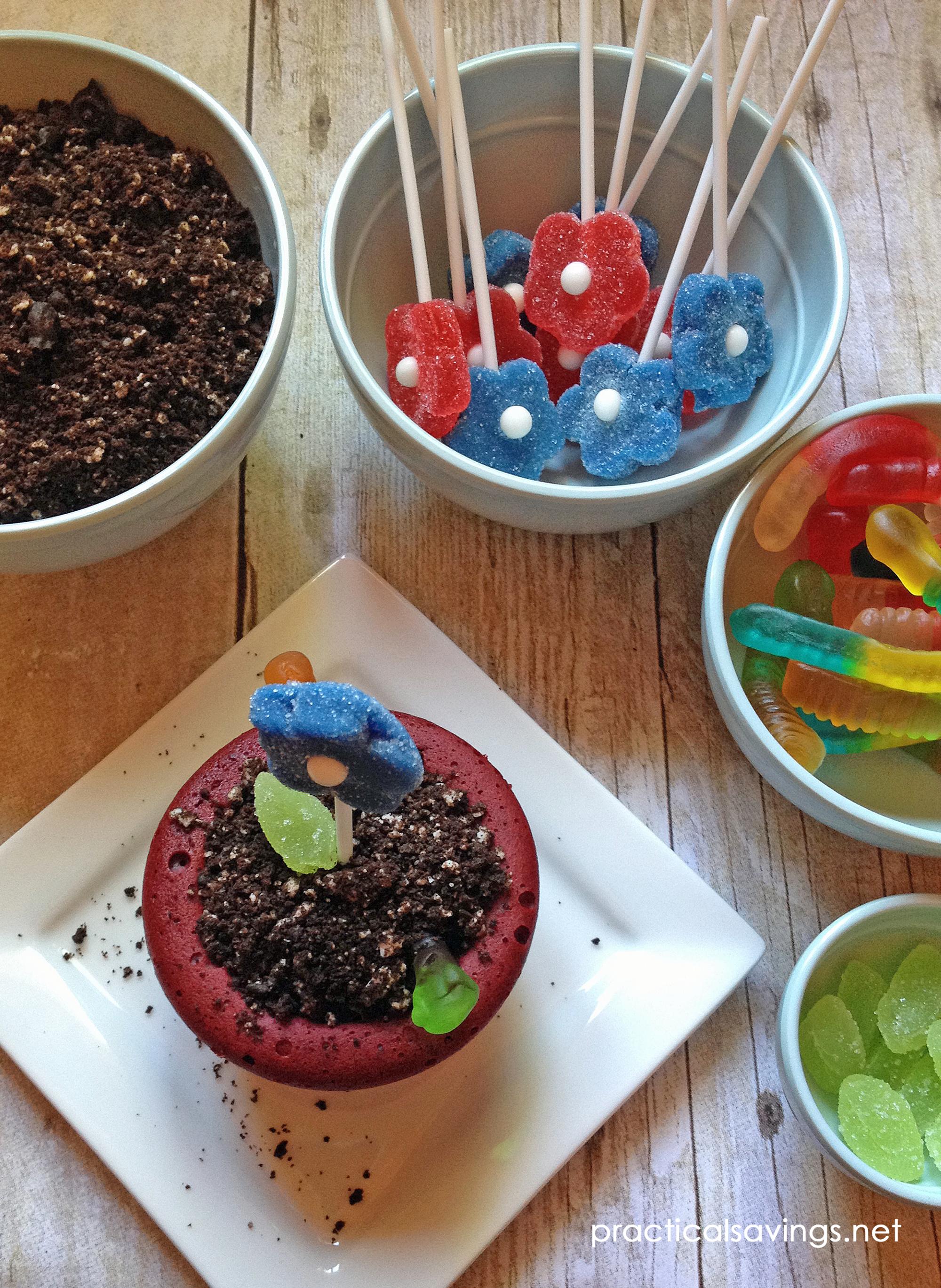 How to Make Flower Pot Cakes Recipe Flower pot cake