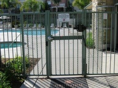 Consideration Pool Gate Latch Code And Electronic Locks