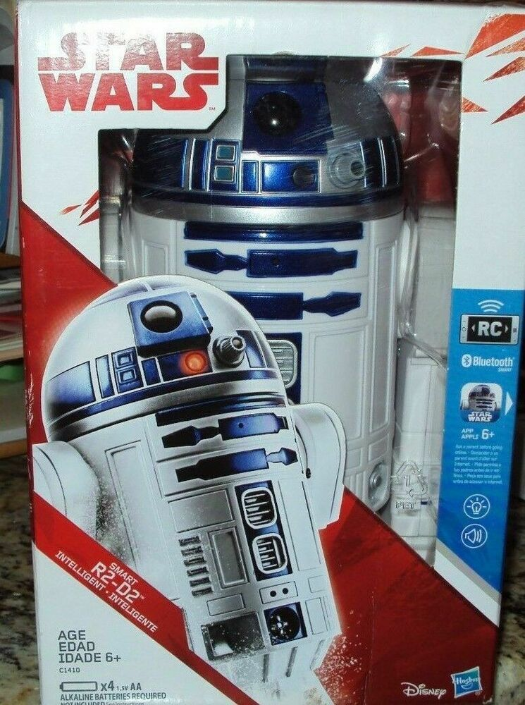 Ages 6 App Enabled RC Robot Droid Bluetooth Hasbro Star Wars Smart R2-D2