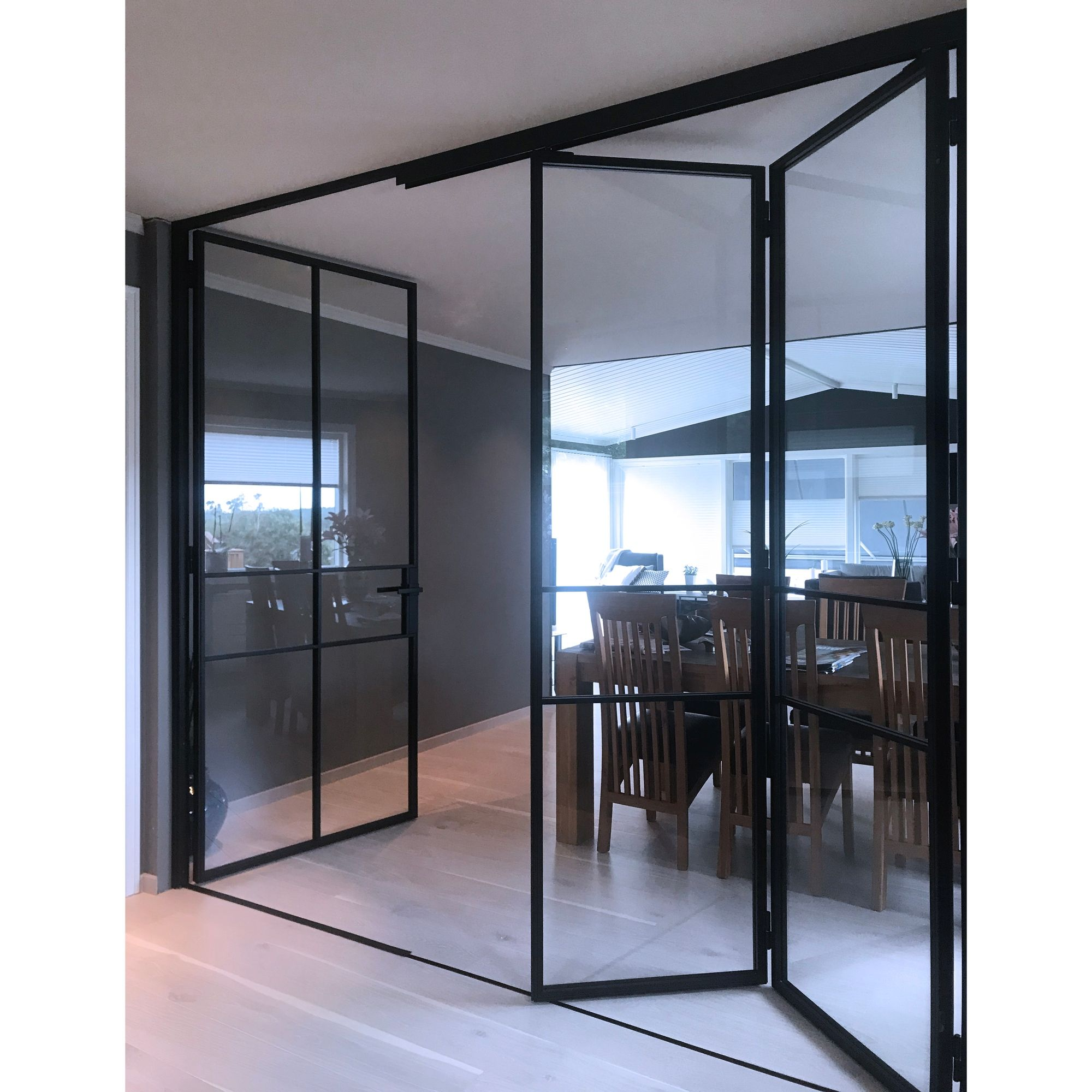 Our beautifully innovative bi-folding doors afford clients t…