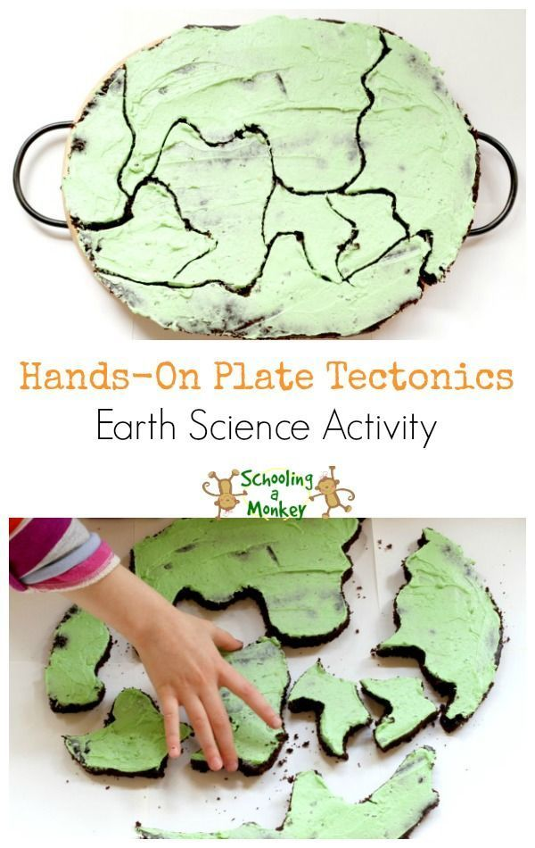 Looking for an easy way to teach continental drift and handson plate tectonics You will love this simple and tasty earth science demonstration using cake