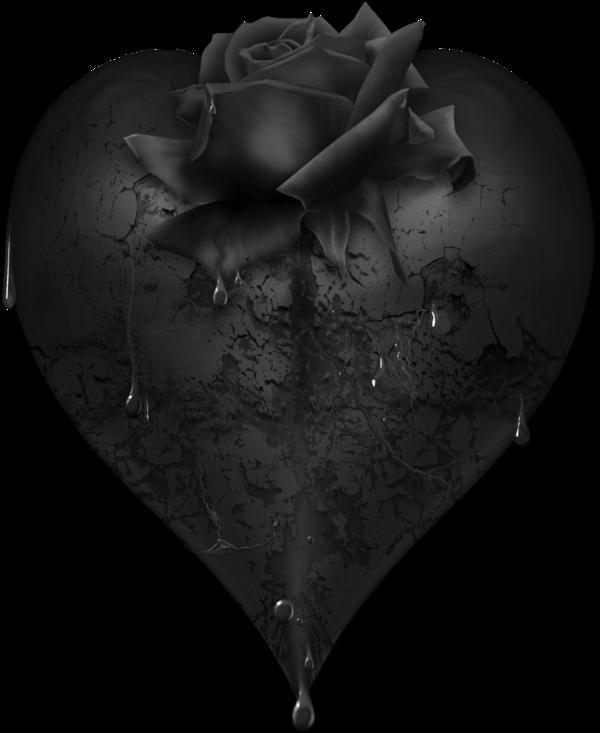темное сердце фото вам