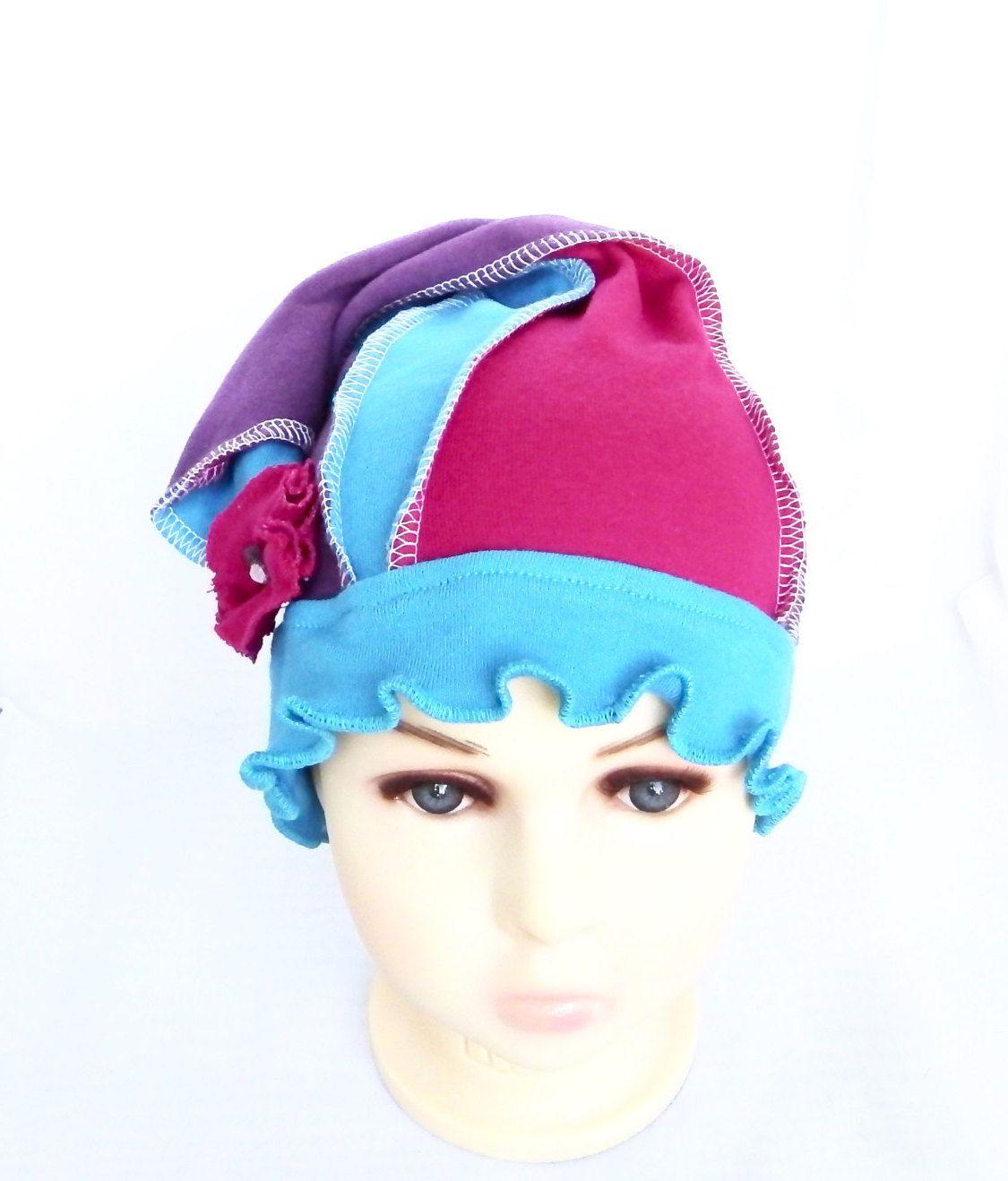 Chapeau, bonnet de chimio filles,ados,enfants cancéreux, tuque, perte de 76807e47848