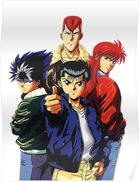 yu yu hakusho anime anime comics