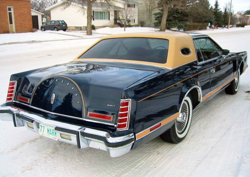 1977 Lincoln Mark V Bill Blass Edition Lincoln Continental