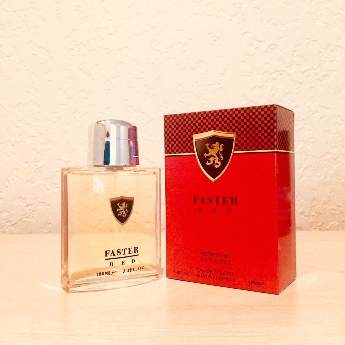 Faster Red Mens Perfume Inspired By Ferrari 3 4 Fl Oz 100mle Brand New Men Perfume Perfume Eau De Toilette