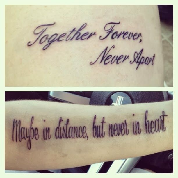 Tattoo Quotes For Men: Couple Tattoo, Love Infinity With