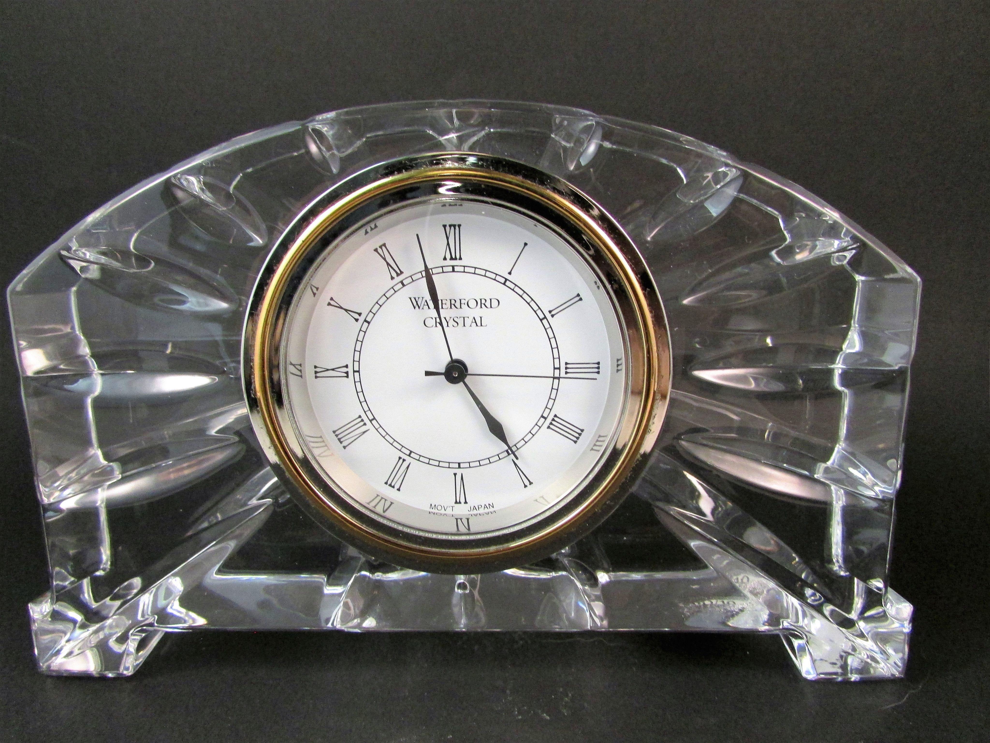 Waterford ireland crystal mantel clock waterford ireland mantel waterford ireland crystal mantel clock amipublicfo Choice Image