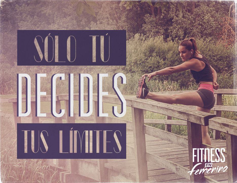 S lo t decides tus l mites fitness en femenino for Solo fitness gym
