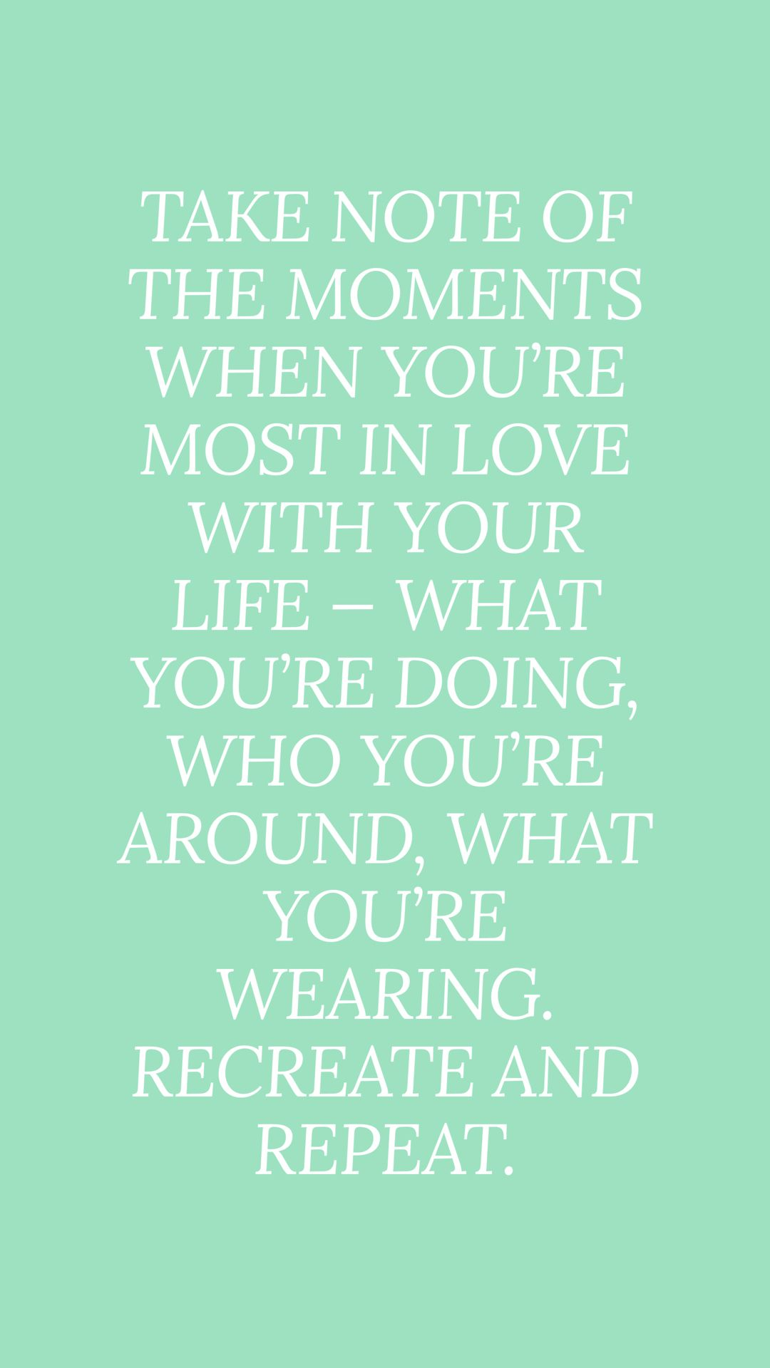 How to love your life #quotesforwallpaper