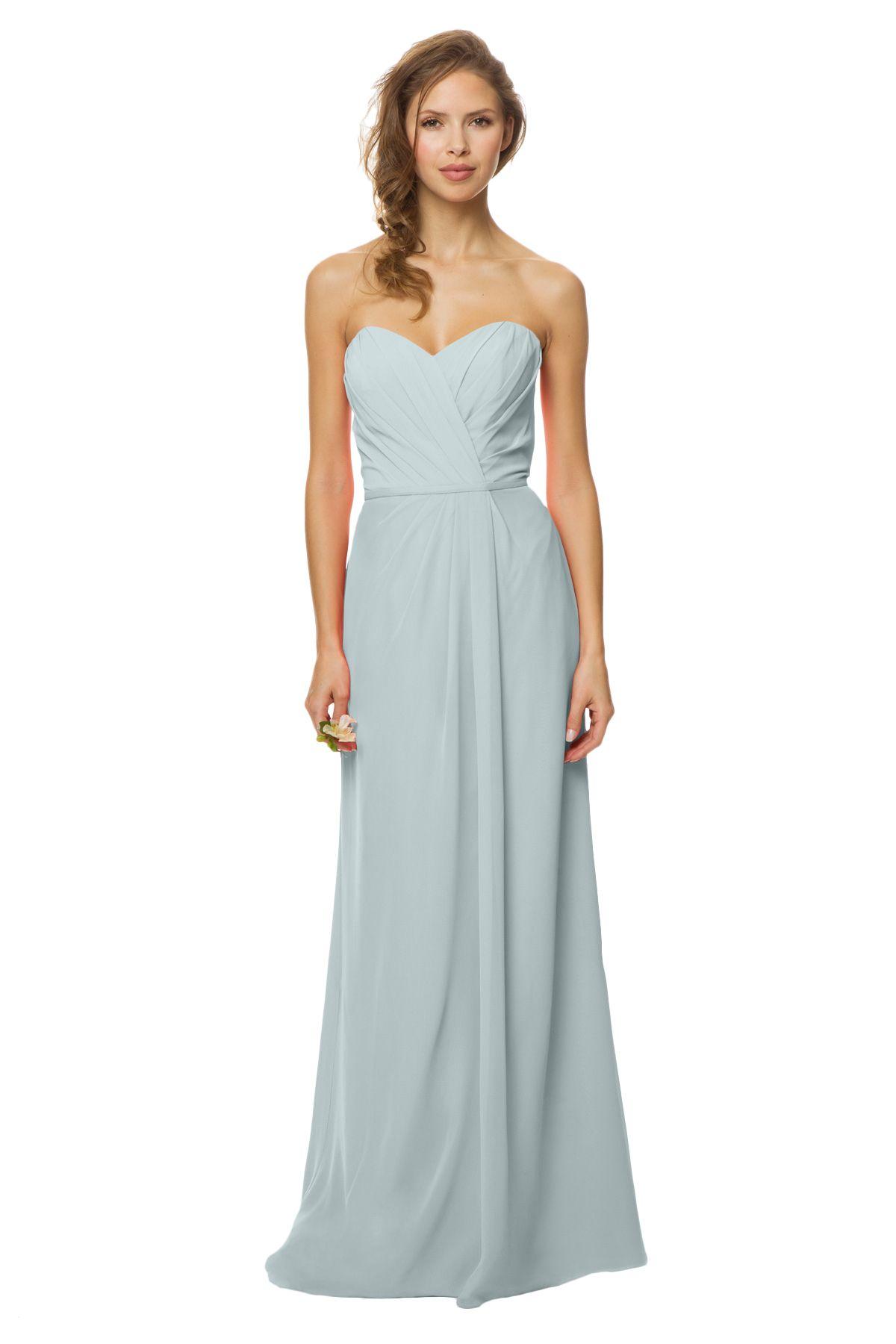 2b84b1ae53ef Shop Bari Jay Bridesmaid Dress - 1450 in Bella Chiffon Misty Blue ...