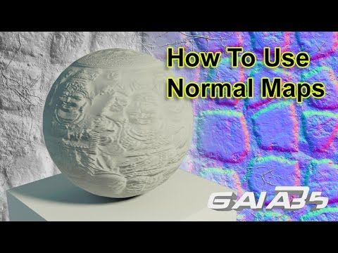 How To Use Normal Maps In 3DS Max - YouTube | 3D | 3ds max